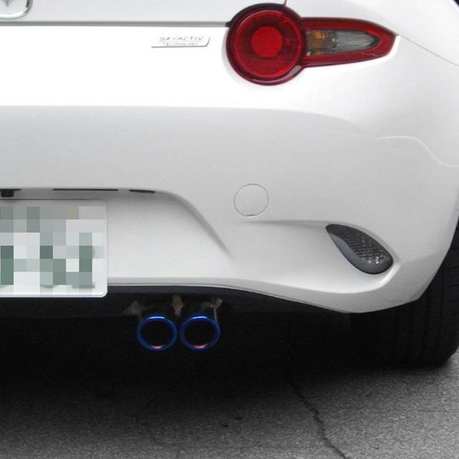 Zeromotive Titanium-look Exhaust Tips