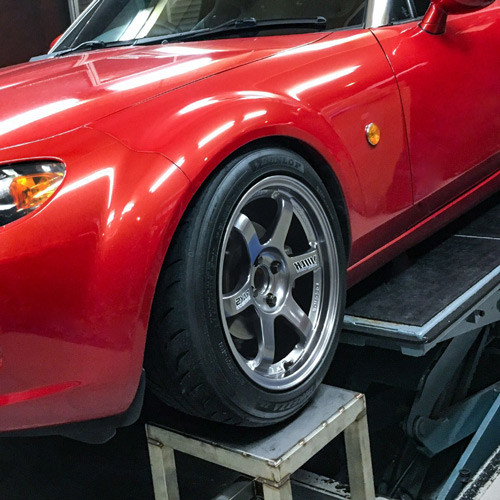 RAYS Volk Racing MTE37 16x8.5 +35 Wheel