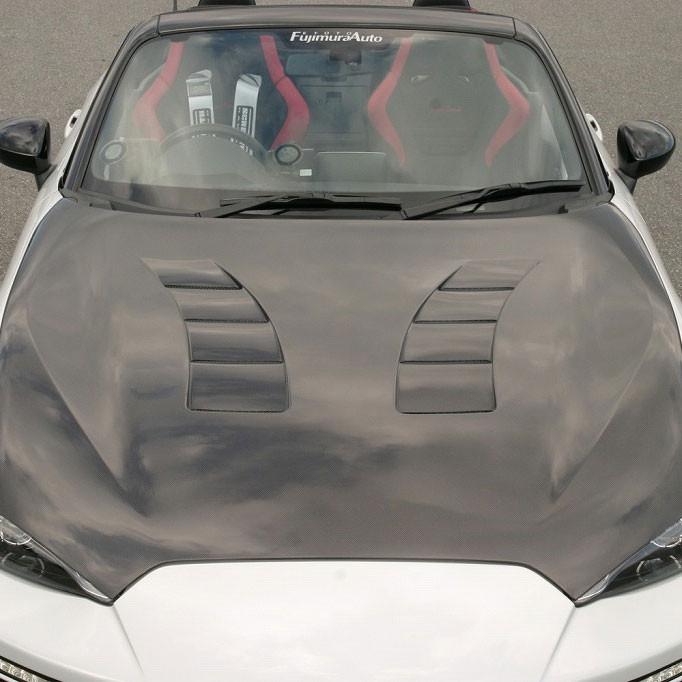 Garage Vary Vented Hood For Miata MX5 MX-5 06-08 JDM Roadster : REV9 Autosport