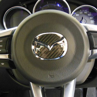 HASEPRO Carbon Steering Wheel Emblem