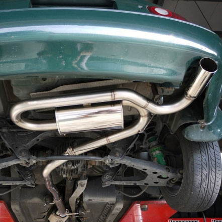 Jet's Beat Sound Muffler For Mazda Miata MX5 NA | REV9