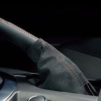 Mazdaspeed Suede Handbrake Boot