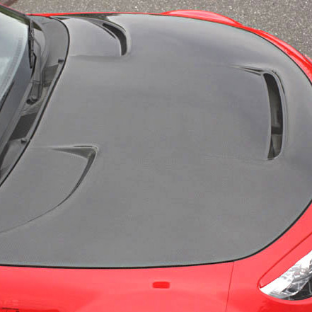 Garage Vary Vented Hood For Miata MX5 MX-5 06-08 JDM Roadster : REV9 Autosport