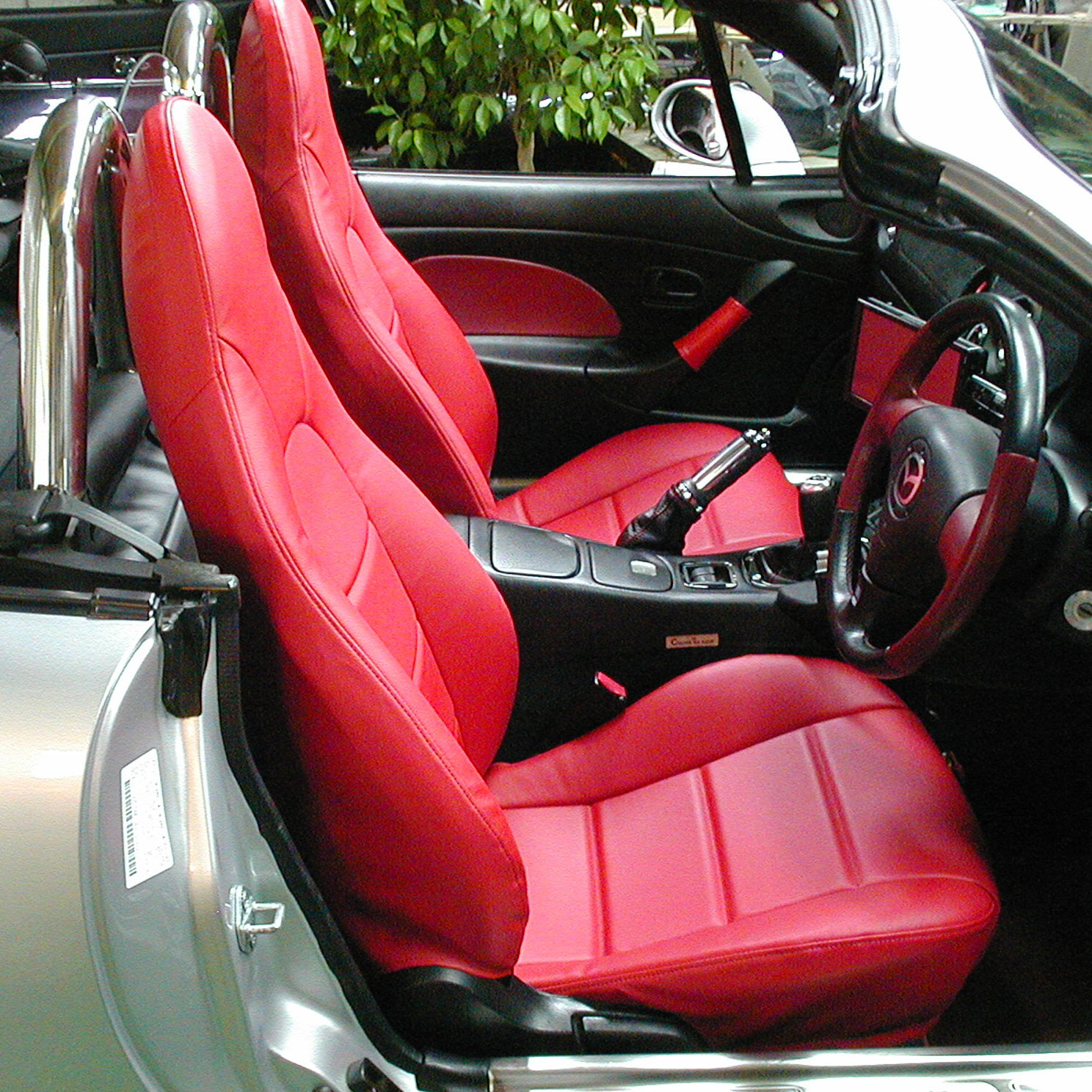 Nakamae Sport Seat Covers For Miata MX5 MX-5 1998-2005 JDM Roadster : REV9 Autosport