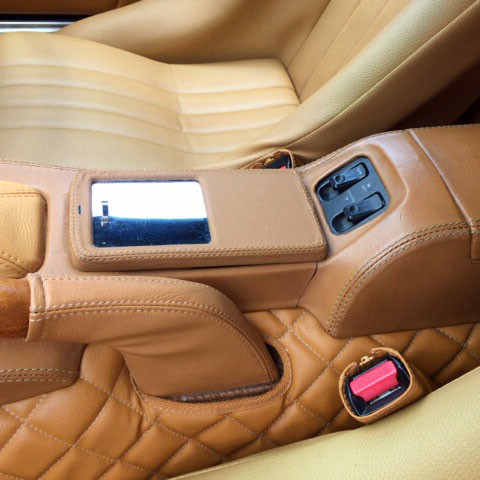 Nakamae Leather Center Console