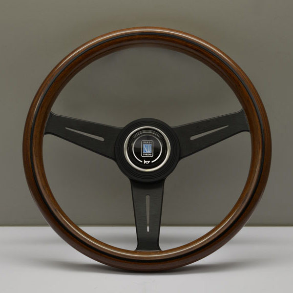 Nardi Classico Steering Wheel 340MM Wood With Black Spokes