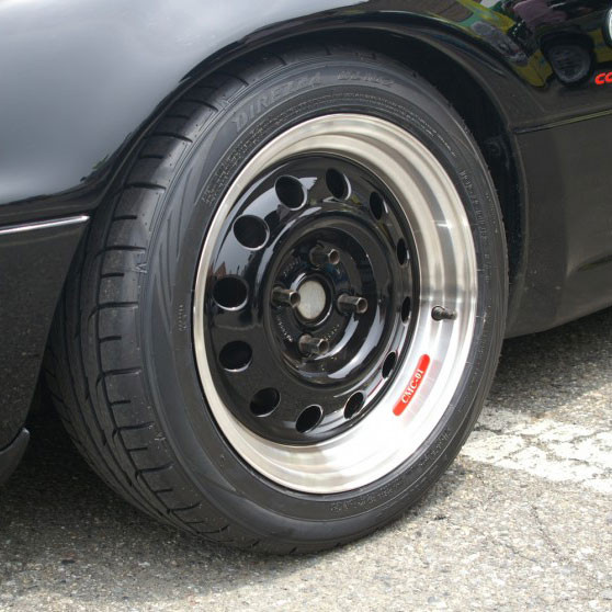 "Car Make Corn's Aluminum CMC-01 15"" Wheel"