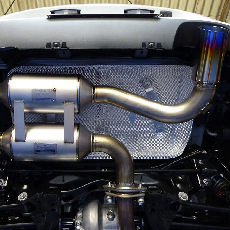 LegSport Titanium Exhaust
