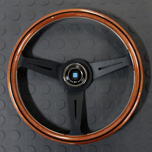 Nardi Classico Steering Wheel 360MM Wood With Black Spokes For Miata MX5 MX-5 ALL YEARS JDM Roadster : REV9 Autosport