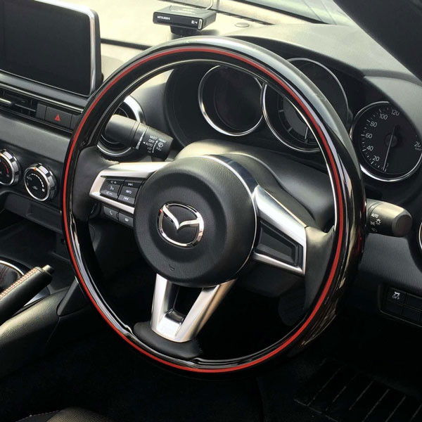 Real All Wood Steering Wheel