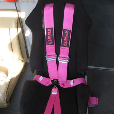 Pit Road M Pink Harness