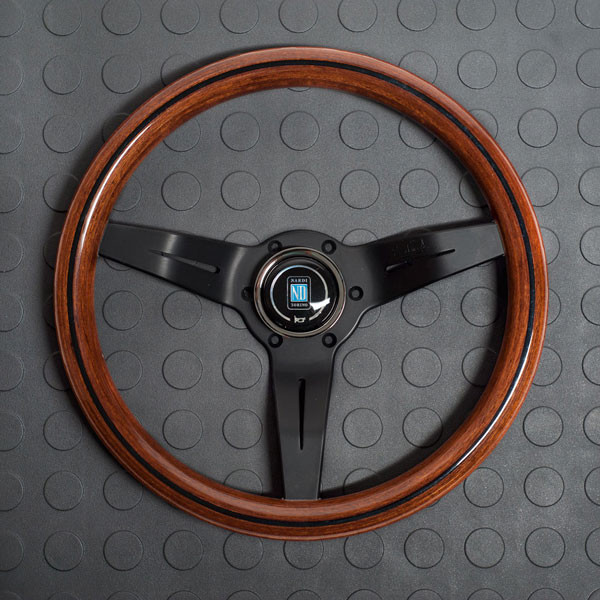 Nardi Deep Corn Steering Wheel 330MM Wood With Black Spokes For Miata MX5 MX-5 ALL YEARS JDM Roadster : REV9 Autosport