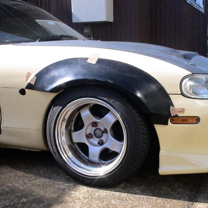 NUE Small Fender Flares (Front Only)