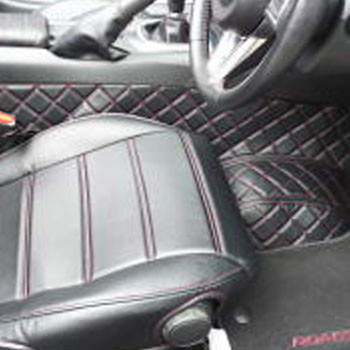 Nakamae Quilted Seat Covers For Miata MX5 MX-5 1998-2005 JDM Roadster : REV9 Autosport