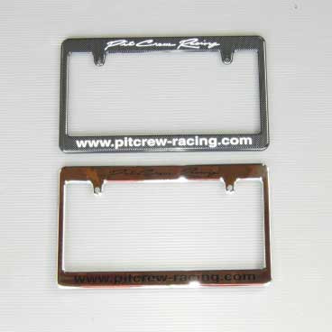 Pit Crew License Plate Frame For Miata MX5 MX-5 ALL YEARS JDM Roadster : REV9 Autosport
