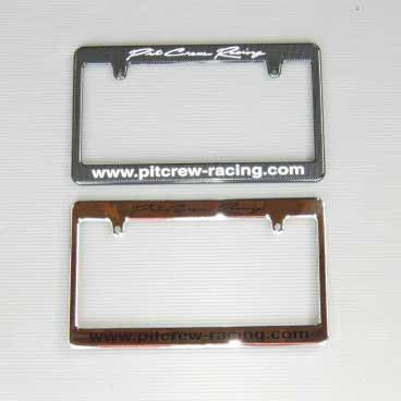 Pit Crew License Plate Frame For Mazda Miata MX5 | REV9