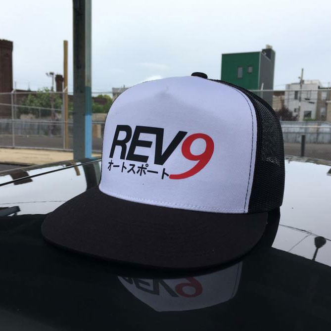 REV9 Autosport Snap-back Cap