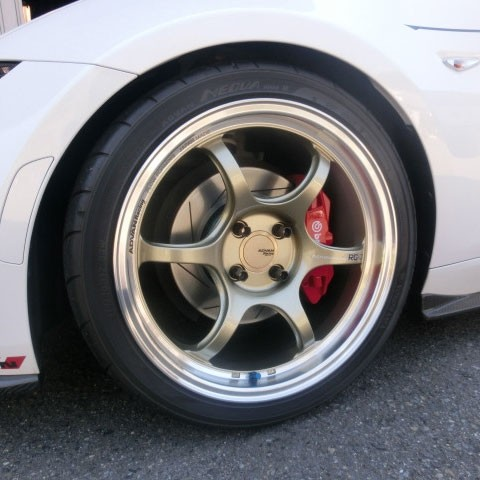 "Advan RG-D2 17"" Wheels"