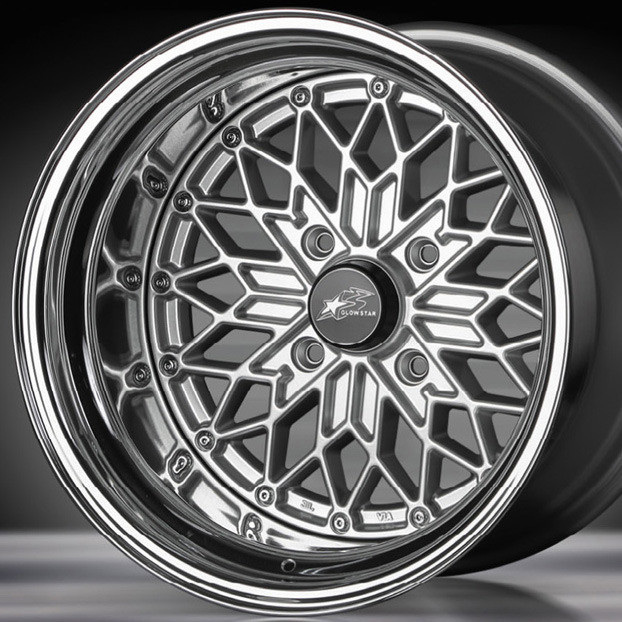 "Star Road GLOWSTAR MS-S 15"" Wheel"