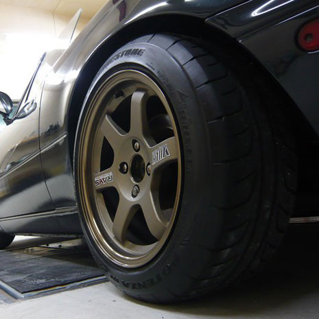 RAYS Volk Racing MTE37 15x8 +25 Wheel