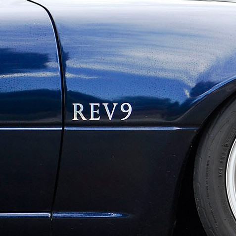 REV9 Sticker For Miata MX5 MX-5 ALL YEARS JDM Roadster : REV9 Autosport