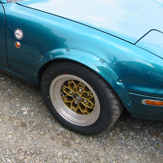 TRAP 240z Style Fender Flares For Miata MX5 MX-5 89-97 JDM Roadster : REV9 Autosport