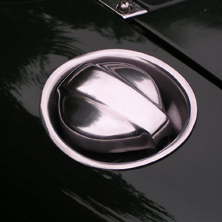 Zoom Retro Fuel Lid For Miata MX5 MX-5 89-05 JDM Roadster : REV9 Autosport