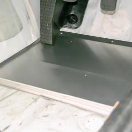 Carbing Heel Adjust Plate