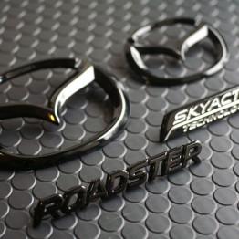 REV9 NC1/NC2/NC3 Gloss Black Emblems