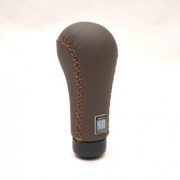 Nardi Prestige Revolution (Brown Leather) Shift Knob