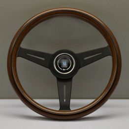 Nardi Classico Steering Wheel 330MM Wood With Black Spokes