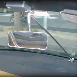 Pit Crew Sliding Rear View Mirror