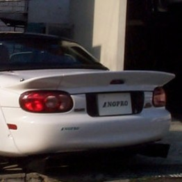 NOPRO Wide Rear Spoiler