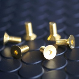 Daikei Gold Steering Wheel Bolts For Miata MX5 MX-5 ALL YEARS JDM Roadster : REV9 Autosport