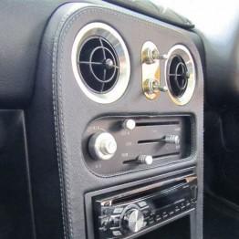 Nakamae Leather Radio Console
