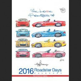 Bow's Roadster Days 2016 Calendar
