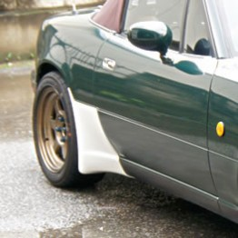 Garage Vary Side Air Deflector For Miata MX5 MX-5 89-05 JDM Roadster : REV9 Autosport