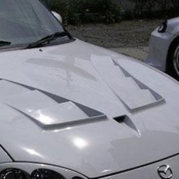 NOPRO Aero Hood For Miata MX5 MX-5 98-05 JDM Roadster : REV9 Autosport