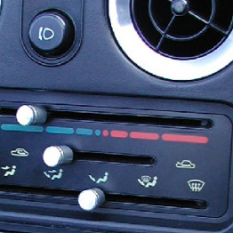 Zeromotive AC Dials For Miata MX5 MX-5 89-97 JDM Roadster : REV9 Autosport