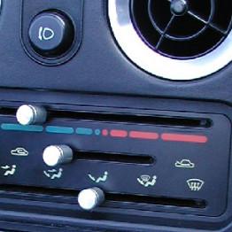 Zeromotive AC Dials For Miata MX5 MX-5 89-97 JDM Roadster : REV9 Autosport