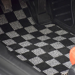 Zero Checkered Floor Mats