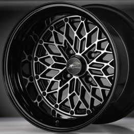 "Star Road GLOW STAR MS-BC 15"" Wheel"