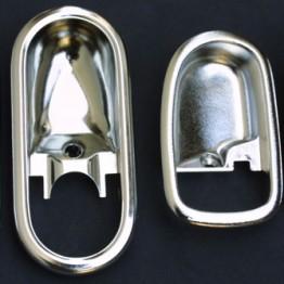 Nielex Chrome Door Cups For Miata MX5 MX-5 89-05 JDM Roadster : REV9 Autosport