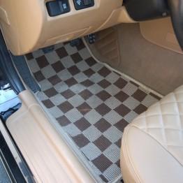 Zeromotive Checkered Floor Mats (Large Pattern) For Miata MX5 MX-5 1998-2005 JDM Roadster : REV9 Autosport