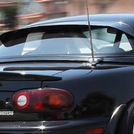 Project-G G-Wing Hardtop Spoiler For Miata MX5 MX-5 89-05 JDM Roadster : REV9 Autosport