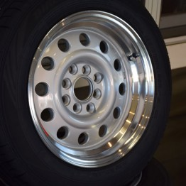 "Car Make Corn's Aluminum CMC-03 14"" Wheel"