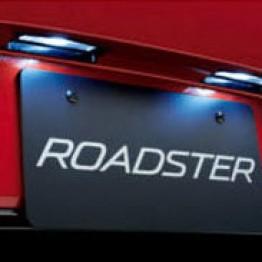 Mazda License Plate Lamp LED