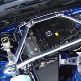 Carbing Front Strut Bar For Miata MX5 MX-5 06+ JDM Roadster : REV9 Autosport