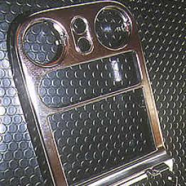 Nielex Chrome Radio Console For Miata MX5 MX-5 89-97 JDM Roadster : REV9 Autosport