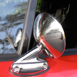 Runabout S800 Mirrors For Miata MX5 MX-5 89-97 JDM Roadster : REV9 Autosport